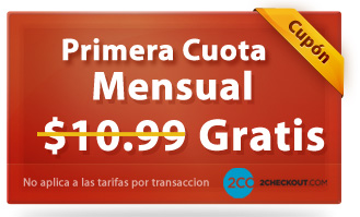 Registro a 2checkout gratis