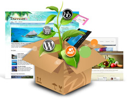 Plantillas gratis WordPress Chile